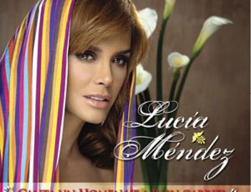"""La cantante mexicana presenta su nueva producción discográfica """"Lucía Méndez canta un homenaje a Juan Gabriel"""""""