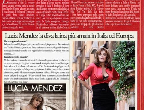 Lucia Mendez en los top 10 de Italia!