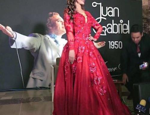 """Lucía Méndez le canta a Juan Gabriel en Bellas Artes de México, con el mismo vestido rojo que uso en el Auditorio Nacional con el """"Divo de Juarez""""!"""